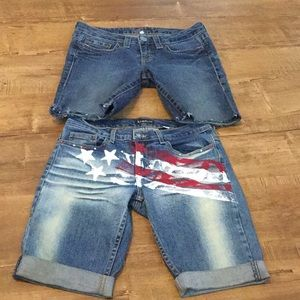 Bundle of two Bebe Shorts